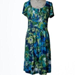 AA Studio Scoop Neck Knit Dress Size 12